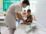 Sức khỏe đời sống - Hà Nội: 1 bệnh nhi bị sốt xuất huyết biến chứng nặng