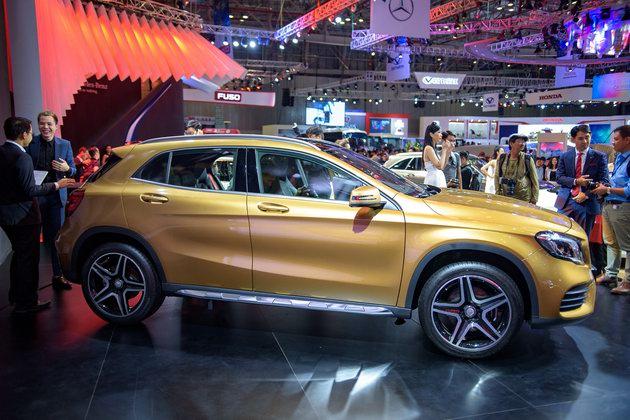 Mercedes GLA 2018 ở Việt Nam có giá từ 1,619 tỷ đồng - 5
