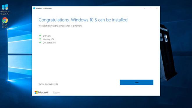 Cách tải và cài đặt Windows 10 S cho máy tính cá nhân - 2
