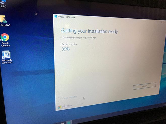 Cách tải và cài đặt Windows 10 S cho máy tính cá nhân - 3