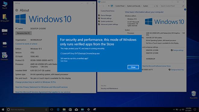 Cách tải và cài đặt Windows 10 S cho máy tính cá nhân - 5