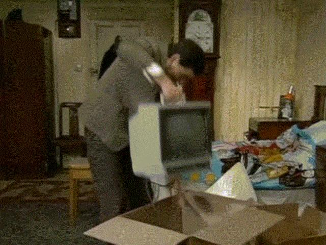 Hài Mr Bean: Lần đầu mua tivi
