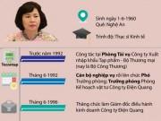 Tin tức trong ngày - Infographic: Con đường quan lộ của Thứ trưởng Hồ Thị Kim Thoa
