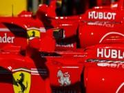 """Thể thao - Đua xe F1: """"Cú đúp"""" hoàn hảo vào cuối hiệp 1"""