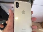 Thời trang Hi-tech - Bất ngờ lộ ảnh iPhone 8 với viền benzel trắng, camera sau kép