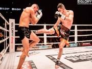 """Thể thao - Võ thuật MMA: Một """"phong thần cước"""", đối thủ """"răng môi lẫn lộn"""""""