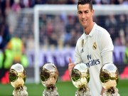 Bóng đá - Ronaldo nghi trốn thuế: Không sợ đi tù, chỉ lo Messi cướp Bóng vàng