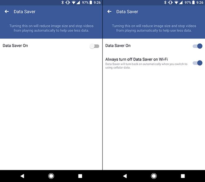 Khai thác tính năng tiết kiệm lưu lượng internet trên ứng dụng Facebook - 3