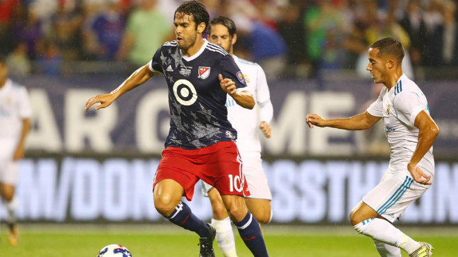 Real Madrid - MLS All Stars: May mắn xoay chiều chóng mặt