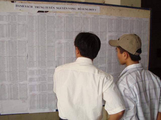 Hàng chục thí sinh kêu cứu khi trúng tuyển nhưng không được nhập học - 2