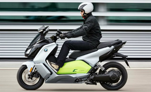 2017 BMW C Evolution lên kệ, giá 312 triệu đồng