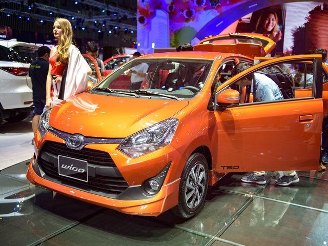 Cận cảnh xe nhỏ giá rẻ Toyota Wigo tại Việt Nam