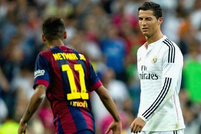 """Hé lộ bất ngờ: Ronaldo nhắn tin riêng, """"xúi"""" Neymar rời Barca"""