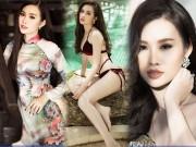 Thời trang - Cô gái Sài thành gây chú ý khi có vòng 3 lớn nhất HH Hoàn Vũ