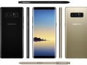 Dế sắp ra lò - Tất tật về cấu hình, thiết kế của Galaxy Note 8 trước thềm ra mắt