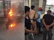 Tin tức trong ngày - Vụ đốt xe vì bị CSGT xử lý: Tài xế nghĩ không đốt thì cũng… mất xe