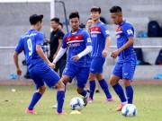 Bóng đá - U23 Việt Nam: Tuấn Anh lãng tử cất lời ca, Công Phượng bị khóa chặt