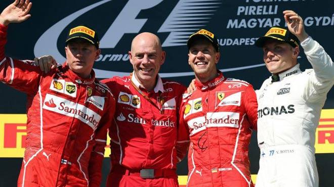 """Đua xe F1: Màn fair-play """"điên rồ"""" và chiếc ghế dựa - 1"""