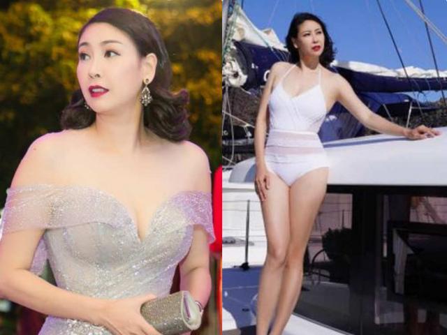"""Là mẹ 3 con, Hoa hậu tuổi U50 này vẫn mặc bikini quyến rũ """"đốt mắt"""""""