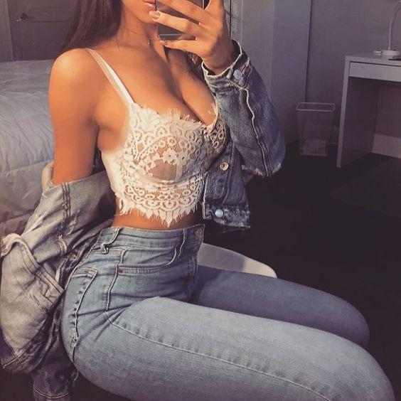 Cách khoe áo lót không gọng mút sexy, chẳng hề phản cảm - 9