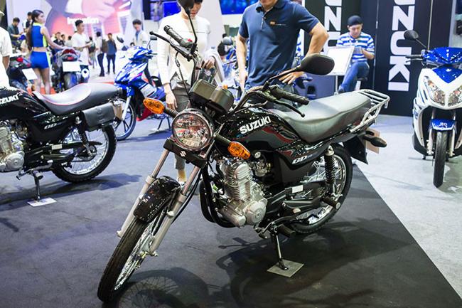 Từng nhớ tại triển lãm mô tô, xe máy Việt Nam 2016 diễn ra hồi tháng 4 năm ngoái, trong gian hàng của Suzuki từng thu hút sự quan tâm lớn từ giới truyền thông với cái tên Suzuki GD110. & nbsp;