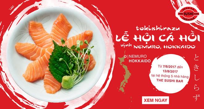 Khám phá lễ hội Cá hồi Tokishirazu - Trải nghiệm vị ngon hảo hạng đến từ Nhật Bản - 1
