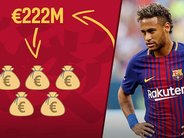 """""""Siêu bom tấn"""" Neymar và đội hình gần tỷ euro rung chuyển thế giới - 3"""