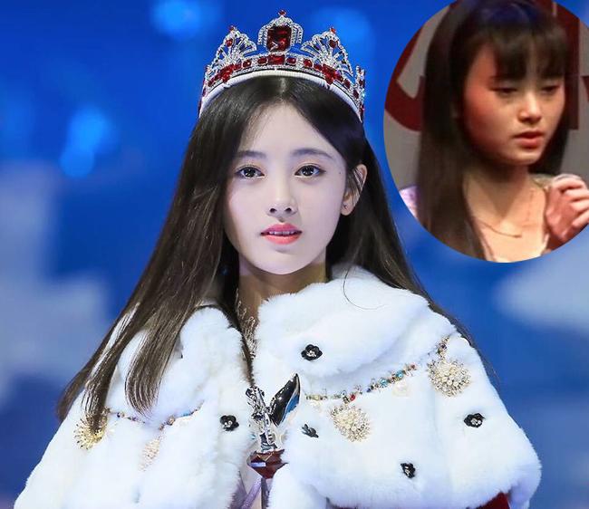 """Mới đây, một diễn đàn của Hàn Quốc  đào lại  ảnh cũ kém xinh của ca sĩ kiêm diễn viên Trung Quốc Cúc Tịnh Y - người được truyền thông Nhật Bản mệnh danh là  mỹ nữ 4000 năm có một """" ."""