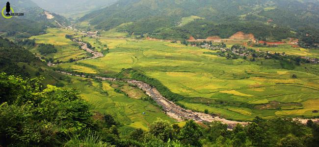 Lạc lối trong thung lũng lúa chín tráng lệ nhất Lào Cai - 1