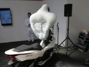 Thế giới xe - Túi khí xe ga Honda nâng độ an toàn đột phá cho lái xe