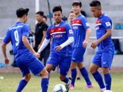 """Bóng đá - U23 Việt Nam: Xuân Trường, Tuấn Anh rèn """"độc chiêu"""" đấu CLB Hàn Quốc"""