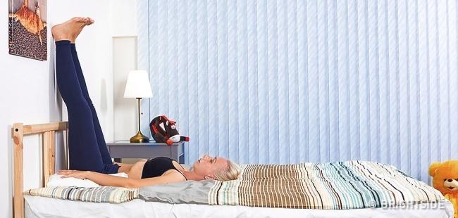 Những bài tập giúp bạn chìm vào giấc ngủ ngay lập tức - 1