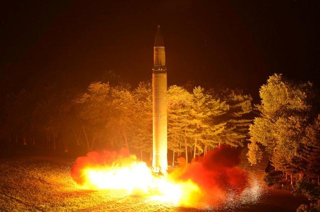 """Triều Tiên dọa dùng hạt nhân khiến Mỹ """"tan thành từng mảnh"""" - 1"""