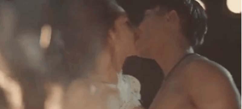 Những nụ hôn bạo liệt của Hà Hồ, Thanh Hằng, Thủy Tiên với trai đẹp - 7