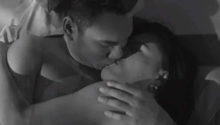 Những nụ hôn bạo liệt của Hà Hồ, Thanh Hằng, Thủy Tiên với trai đẹp - 9