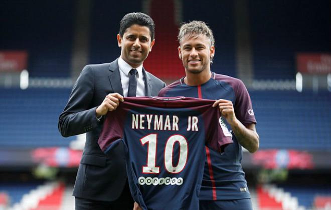 """""""Bom tấn"""" Neymar - PSG: Choáng với tấm séc 222 triệu euro - 1"""