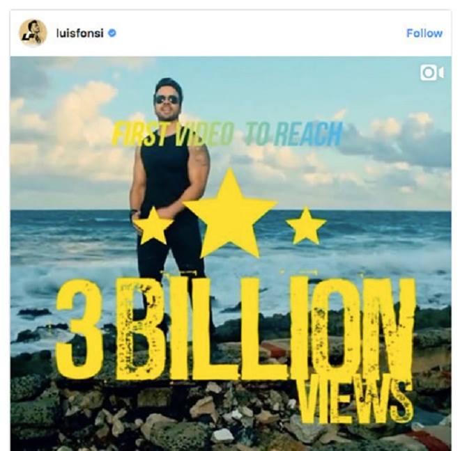 Cán mốc 3 tỷ view, Despacito chính thức soán ngôi See you again - 2