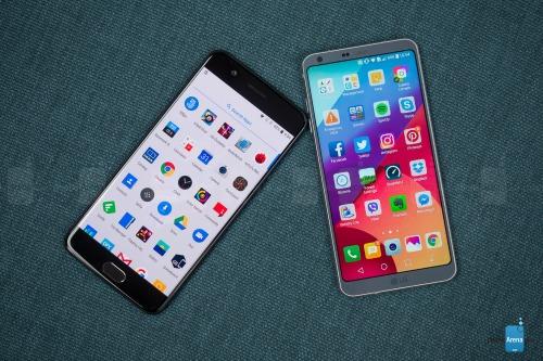OnePlus 5 và LG G6: Bằng giá, cấu hình khác biệt - 4