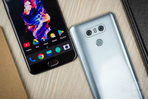 OnePlus 5 và LG G6: Bằng giá, cấu hình khác biệt - 2