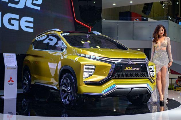 Mitsubishi XM Concept: Sự lãng mạn hiếm có tại VMS 2017 - 1