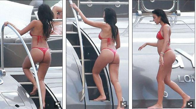 """Ronaldo """"u sầu"""" vì nghi án trốn thuế, mặc bạn gái diện bikini bốc lửa - 3"""