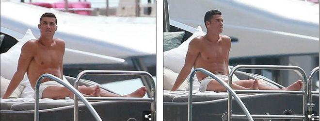 """Ronaldo """"u sầu"""" vì nghi án trốn thuế, mặc bạn gái diện bikini bốc lửa - 9"""