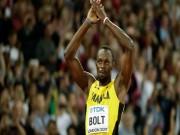"""Thể thao - Usain Bolt về nhất, vẫn thất vọng vì bản thân """"quá chậm"""""""
