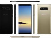 Dế sắp ra lò - Concept Galaxy Note 8 đẹp ở mọi góc cạnh