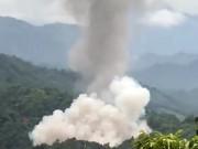 Tin tức trong ngày - Nổ kho chứa vũ khí của Công an Hà Giang, cột khói bốc cao ngút trời
