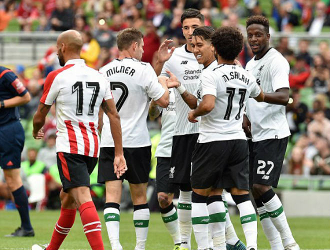Liverpool - Athletic Bilbao: 4 bàn mãn nhãn, hiệp 2 bùng nổ - 1