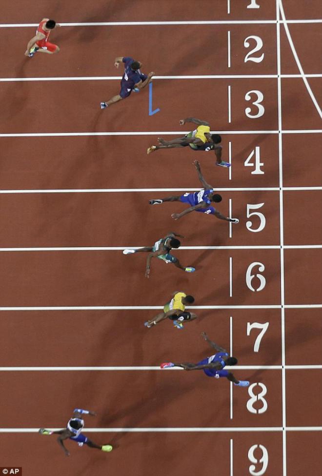 """Chấn động thế giới: Usain Bolt thua sốc, mất ngôi """"vua chạy 100m"""" - 5"""