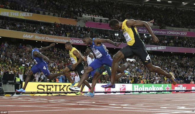 """Chấn động thế giới: Usain Bolt thua sốc, mất ngôi """"vua chạy 100m"""" - 4"""