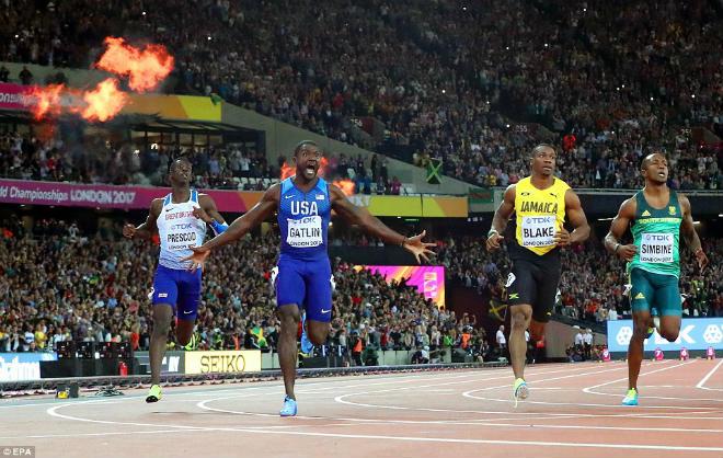 """Chấn động thế giới: Usain Bolt thua sốc, mất ngôi """"vua chạy 100m"""""""