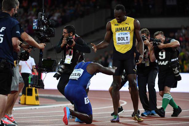 Usain Bolt mất ngôi vua 100m tâm phục, tán dương đối thủ Gatlin - 3